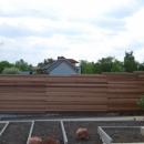 Sichtschutzwand aus Holz - Western Red Cedar